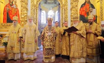 25 χρόνια Αρχιερατείας του Μητροπολίτη Κιέβου και Πάσης Ουκρανίας