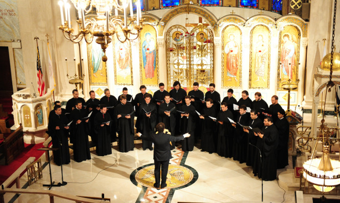 ARCHDIOCESAN BYZANTINE CHOIR, JUNE 16, 2012