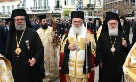 Ενθρόνιση Αρχιεπισκόπου Αθηνών και πάσης Ελλάδος κ. Ιερωνύμου.