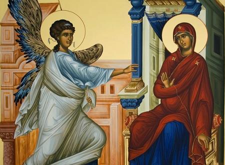 Image result for εικονα ευαγγελισμου