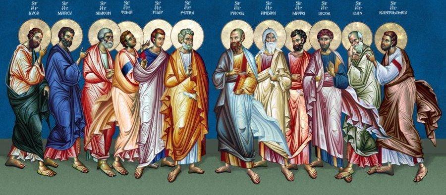 Αποτέλεσμα εικόνας για οι αποστολοι