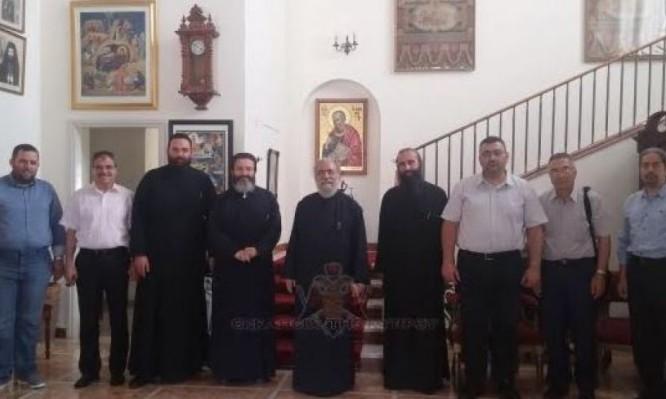 Συνάντηση Εκπροσώπων των Εκκλησιαστικών Περιφερειών και Μονών