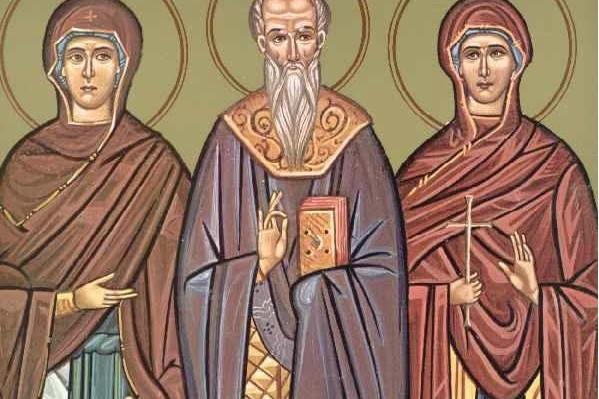 άγιοι παύλος, ουαλεντίνη και θέη