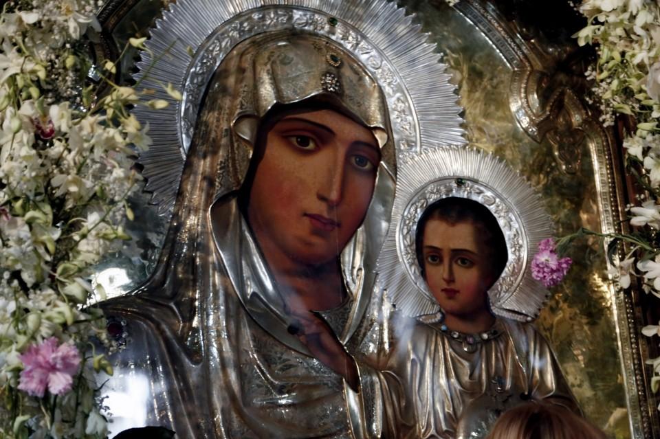 Η εμφάνιση της Παναγίας στον Άγιο Παΐσιο   Dogma