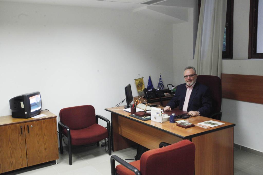 Ο Διευθυντής του Γραφείου Τύπου κ. Γεώργιος Βασιλείου