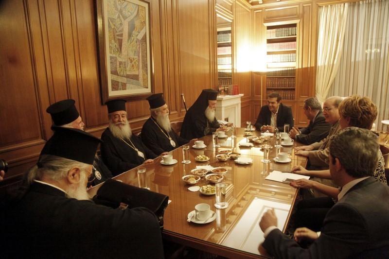 05/10: Τον Πρωθυπουργό κ. Αλέξη Τσίπρα επισκέφθηκε εκτάκτως ο Αρχιεπίσκοπος Αθηνών και πάσης Ελλάδος κ. Ιερώνυμος, για να του εκθέσει τις απόψεις και την σύμφωνη γνώμη της Ιεραρχίας σε ό,τι αφορά το μάθημα των Θρησκευτικών.