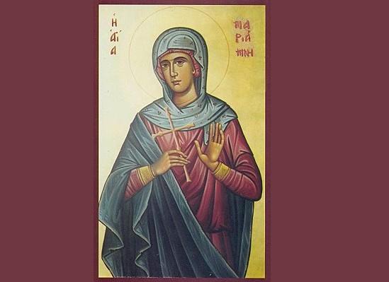 Αγία Μαριάμνη