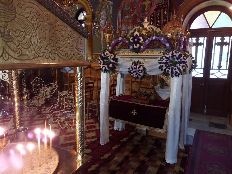 Ιερός Ναός Αγ. Αικατερίνης στο Λεωνίδιο Αρκαδίας