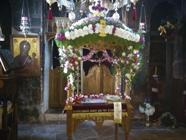 Ιερά Μονή Εισοδίων της Θεοτόκου Μυρτιάς Τριχωνίδος