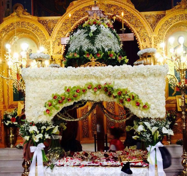 ιερός ναός Παμμεγίστων Ταξιαρχών Περιστερίου (Παλαιός)
