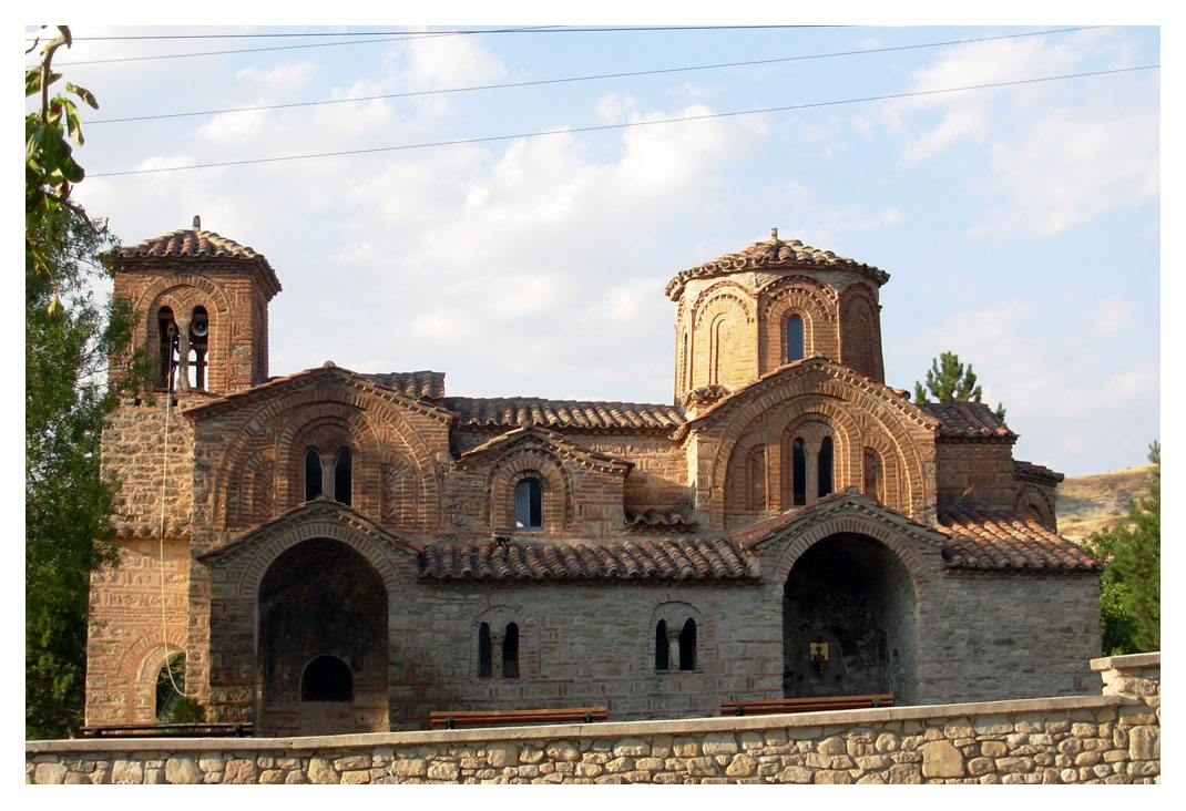 Ο Άγιος Γεώργιος στην Ομορφοκκλησιά Καστοριάς