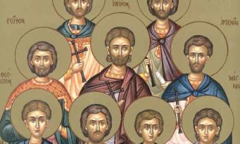 Άγιοι εννέα μάρτυρες της Κυζίκου