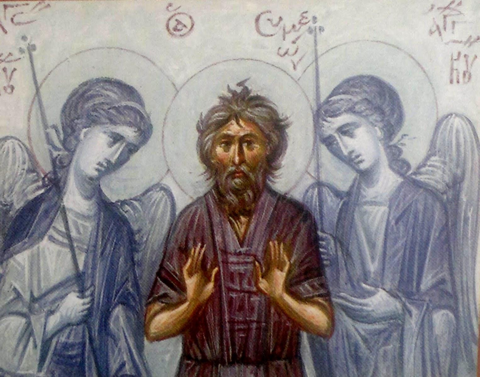 Αποτέλεσμα εικόνας για αγιος ανδρεας δια χριστον σαλος