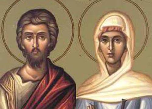 άγιοι Ανδρόνικος και Ιουνία