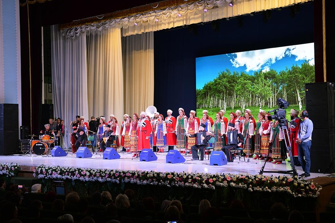 Торжественный акт посвященный 145-летиюначала епархиальной жизни Ташкентской епархии