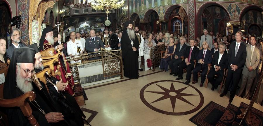 26/08: Στον ιερό ναό Αγίου Φανουρίου Ιλίου - Εκκλησιαστικού Ορφανοτροφείου Βουλιαγμένης της Ιεράς Αρχιεπισκοπής Αθηνών χοροστάτησε στον Μεγάλο Πανηγυρικό Εσπερινό ο Αρχιεπίσκοπος Αθηνών και πάσης Ελλάδος κ. Ιερώνυμος με αφορμή την εορτή του Αγίου Φανουρίου του Θαυματουργού.