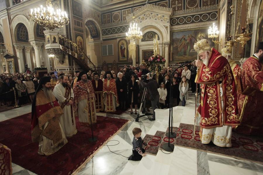 19/02: Ο εορτασμός της Αγίας Φιλοθέης στην Αρχιεπισκοπή Αθηνών.
