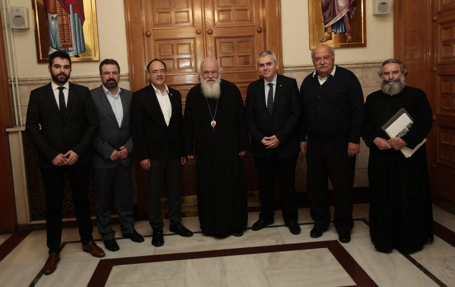29/11: Αντιπροσωπεία της Διακοινοβουλευτικής Συνέλευσης Ορθοδοξίας στον Αρχιεπίσκοπο.