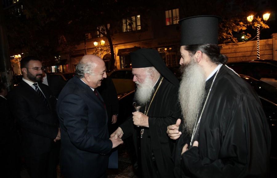 27/11: Ο Αρχιεπίσκοπος στο Διεθνές Συνέδριο για τα Παλίμψηστα του Σινά.