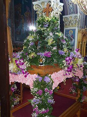 Επιτάφιος Ιερού Ναού Αγίου Δημητρίου Αετού Τριφυλλίας Μεσσηνίας