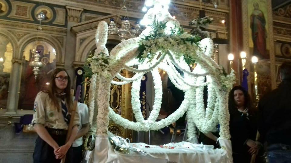 Ιερός Ναός Κοιμήσεως Θεοτόκου Αμαρουσίου