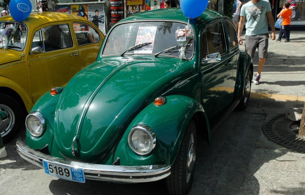 Το πρώτο αυτοκίνητο του Αρχιεπισκόπου Ιερωνύμου.