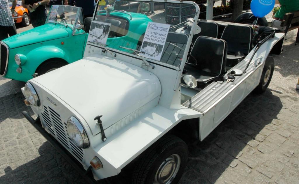 Το αυτοκίνητο της ηθοποιού Ρένας Βλαχοπούλου.